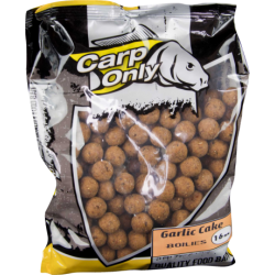 Carp Only Garlic Cake Boilie  16mm