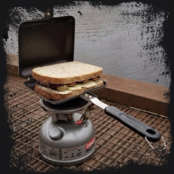 RidgeMonkey - SANDWICH TOASTER XL mk 2 BLACK